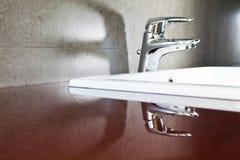 Faucet odbicia cień Obraz Stock