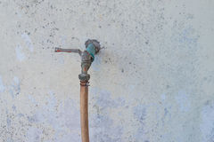 Faucet old degraded Royalty Free Stock Photos