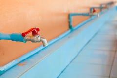 Faucet at schools. Faucet at schools in thailand Stock Photos
