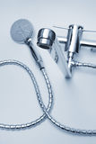 Faucet and shower Royalty Free Stock Photo