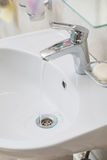 Faucet with sink Royalty Free Stock Image