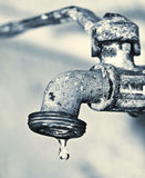 faucet stary Obrazy Royalty Free