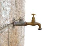 faucet stary Zdjęcia Stock