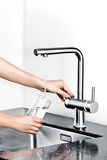 Faucet tap water Royalty Free Stock Image