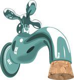 Faucet Tap Water Sink Plumbing Cork Stock Photos