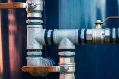 Faucet valve. Royalty Free Stock Photography