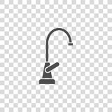 Faucet vector icon. On white background Stock Images