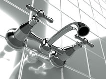 Faucet vintage Royalty Free Stock Photos