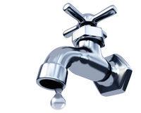 Faucet water Royalty Free Stock Photos