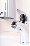 Faucet without water Stock Image