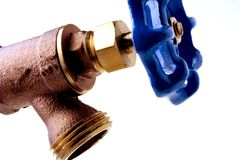 faucet water Στοκ εικόνα με δικαίωμα ελεύθερης χρήσης