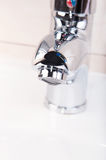 Faucet without water Royalty Free Stock Images