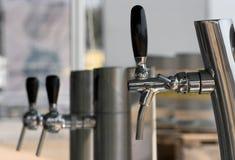 faucets 3 пива Стоковое Изображение