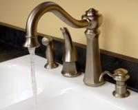 Faucets da cozinha Foto de Stock Royalty Free