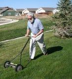 Fauchage de la pelouse Images libres de droits