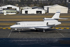 Faucon 900EX de Dassault Photos libres de droits