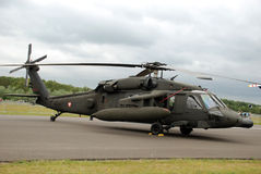 Faucon de noir des Etats-Unis UH-60 Image stock