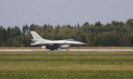 Faucon du combat F-16 Photos libres de droits