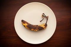 Faule Banane Lizenzfreies Stockbild
