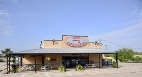 Faule J-Ranch-Abnutzung, Fort Worth, Texas stockbilder