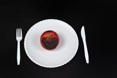 Fauler Apfel Lizenzfreie Stockfotografie