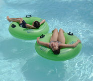 Fauler Fluss in Abenteuer-Insel Tampa Bay Lizenzfreie Stockfotos