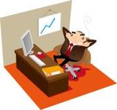 Fauler Manager Lizenzfreie Stockfotos