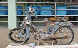 Faules Motorrad Lizenzfreie Stockfotografie