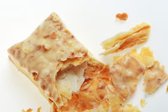 Faulted Biscuit Bar Stock Photo