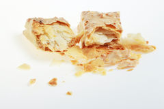 Faulted Biscuit Bar. Short cut of faulted biscuit bar stock photos