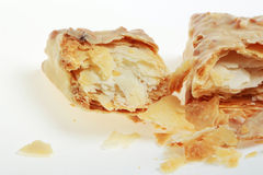 Faulted Biscuit. Short cut of faulted biscuit royalty free stock photos