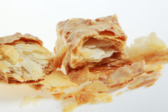 Faulted Biscuit. Short cut of faulted biscuit stock photo
