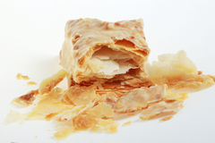 Faulted Biscuit. Short cut of faulted biscuit stock photos