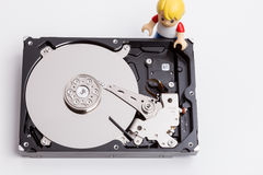 Faulty hard drive Stock Images