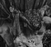 Faun на фонтане Стоковые Изображения RF