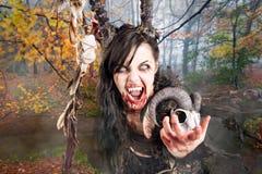 Faun creature Stock Photography