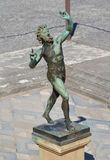 Faun of Pompei royalty free stock photography