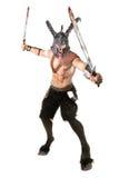 Faun Warrior Royalty Free Stock Images