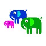 fauna linda salvaje del mamífero animal del ejemplo del elefante Foto de archivo