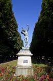 Faune Dansant Sculpture em Jardin du Luxemburgo Foto de Stock