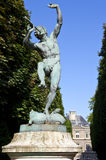 Faune Dansant Sculpture in Jardin du Luxembourg Stock Photo