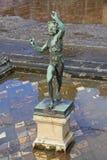 Fauno de Pompeya foto de archivo