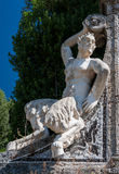 Fauno-statue royalty free stock photography