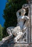Fauno-staty Royaltyfri Fotografi