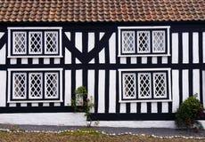 Fausse maison de Tudor photos stock