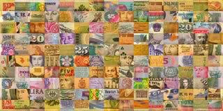 Fausse monnaie Photos libres de droits