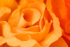 Fausse rose de jaune Photographie stock libre de droits