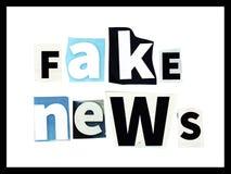 Fausses actualités photos libres de droits