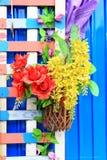 Fausses fleurs Photo stock