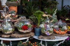 Fausses fleurs pour des buts décoratifs Images stock